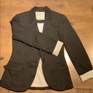 Anthropologie Cartonnier Size S Black Blazer